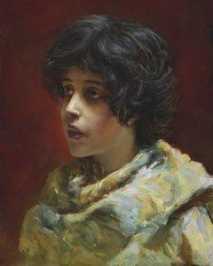 Master Study of Konstantin Makovsky
