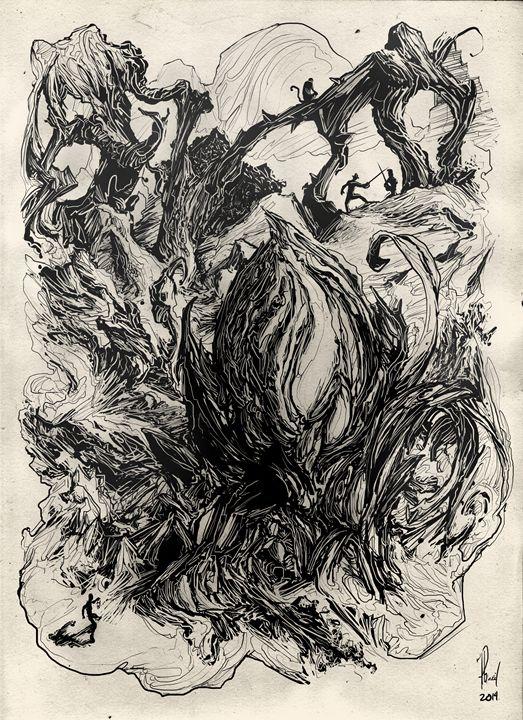 Unaware - Phil Baril's Art