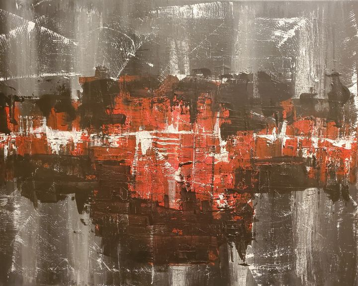 Greyscale Abstract - Macasso