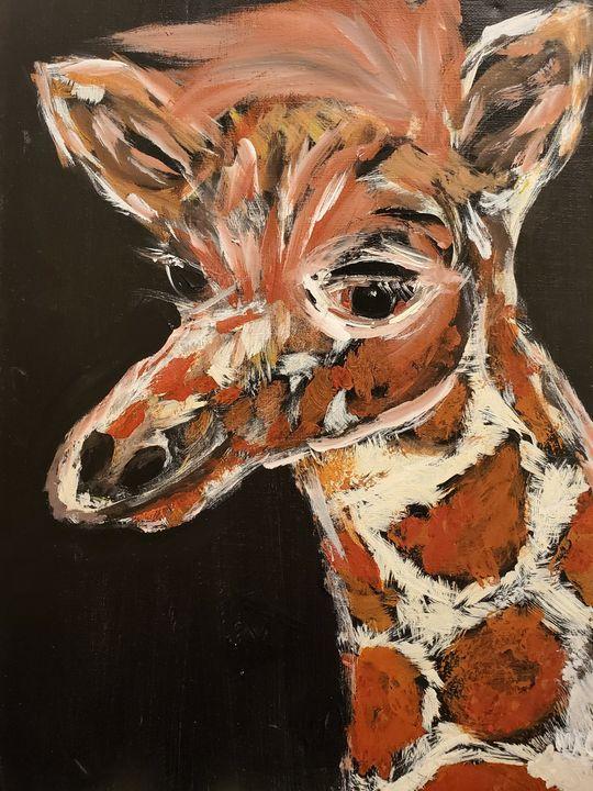 Gentile Giraffe - Macasso
