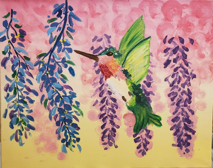 Hummingbird - Macasso
