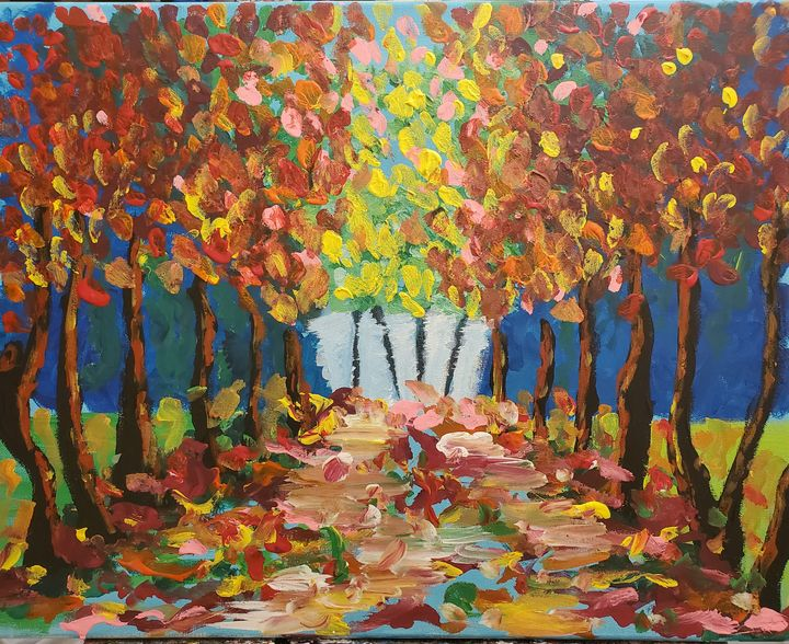 Fall in the park - Macasso