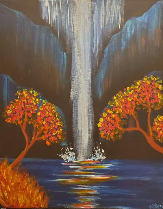 Falls over Fall - Macasso