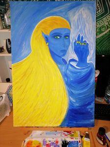Blue Venusian Queen