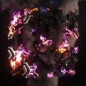 Burning Fractal 2