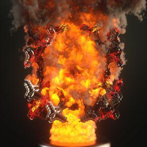 Burning Fractal 1