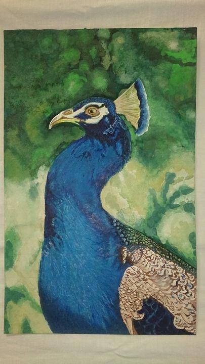 peacock click - Dhivya Art Studio