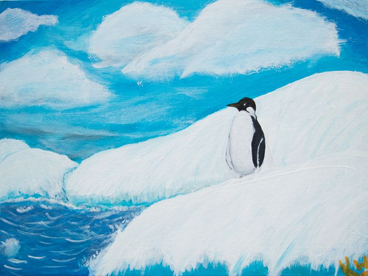Penguin - Paintings by Komal