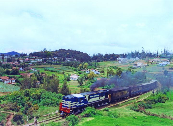 Nilgiri Mountain Railway - Bhaswaran