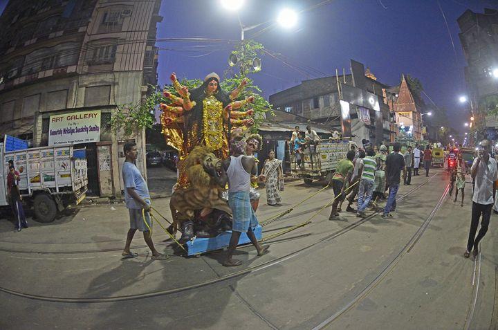 Durga Puja in Kolkata - Bhaswaran