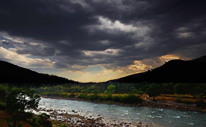 Monsoon in the Himalayas - Bhaswaran