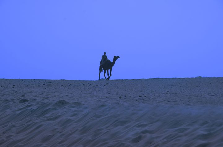 Night in the desert - Bhaswaran