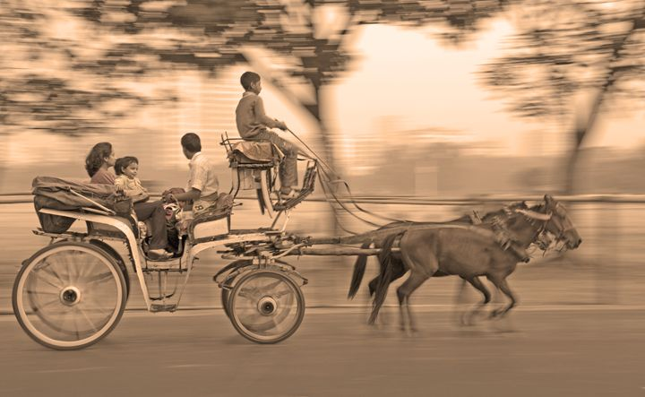 Riding the Time Machine - Bhaswaran