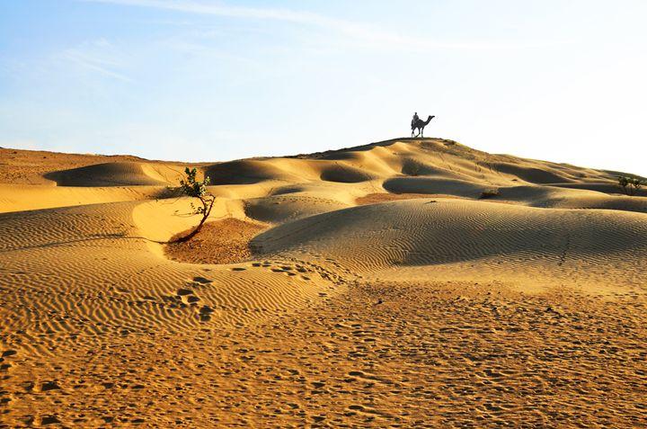 Desert landscape - Bhaswaran