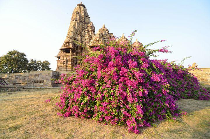 Khajuraho temple - Bhaswaran