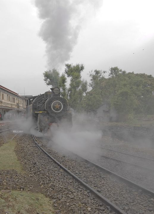 Steam Locomotive - Bhaswaran