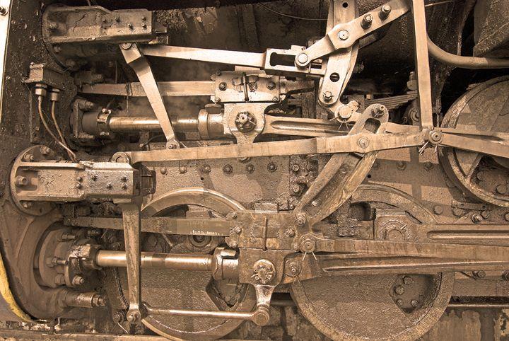 Steam Locomotive Axles - Bhaswaran