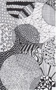 Zentangle Circles - Alyssa LaCivita