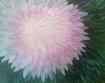 1000 Petals on Green - Carol Diane