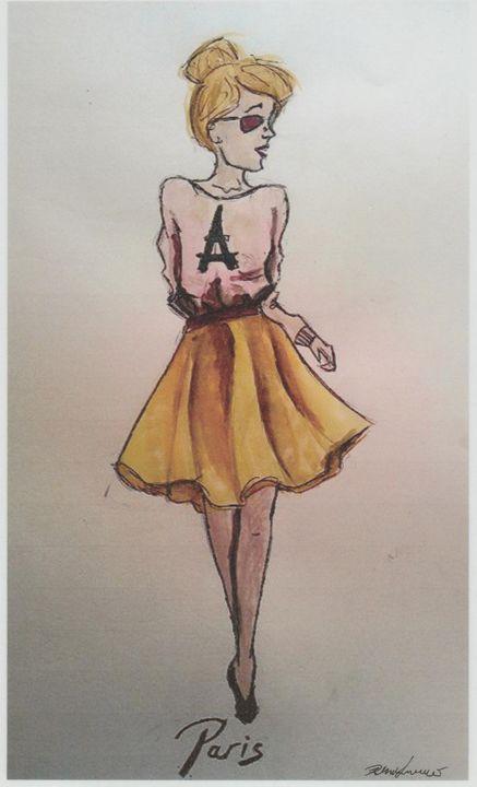 Paris - Art of Becca Nicole