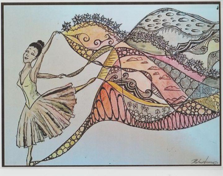 Ballerina - Art of Becca Nicole