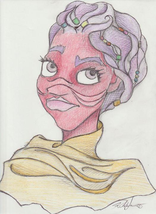 Alien Princess - Art of Becca Nicole