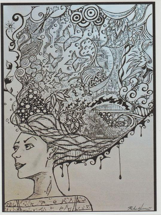 Abstract Girl - Art of Becca Nicole