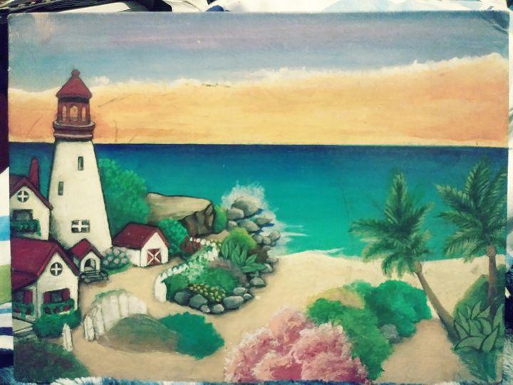 Dream Lighthouse - AJD's Custom Art and Designs