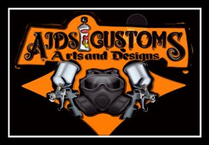 Gas Mask airbrush logo art