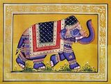 Fabric Elephant 1 Rajasthani Art