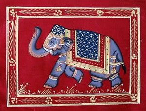 Fabric Elephant 4 - Artwaley Australia