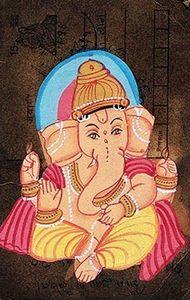 Postcard Ganesha