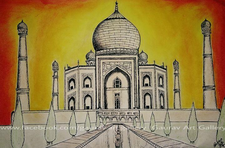 Taj Mahal - Gaurav Art Gallery