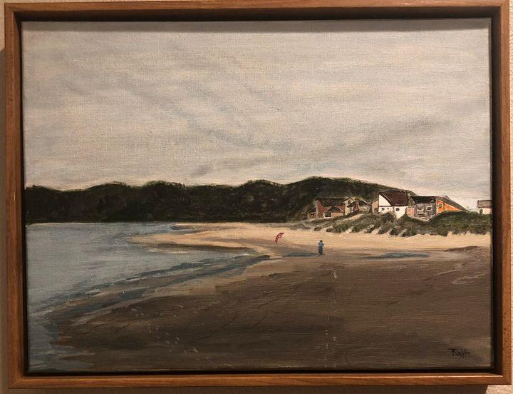 Tierra Del Mar Beach - Artist Terri Wylie