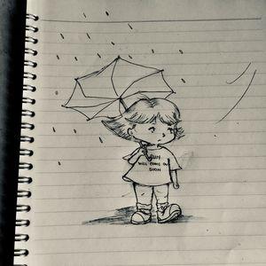 Uncolored 'rain'