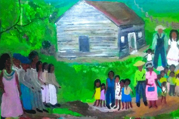Family Reunion - Art By Pearl Graham
