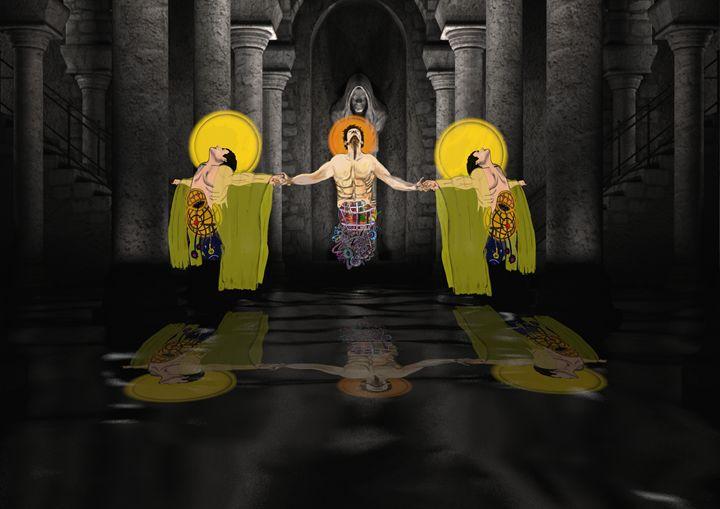 the three headed god - stephen pryor