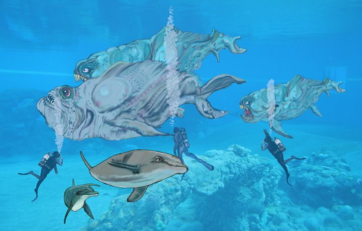 swimming with the fishes - stephen pryor
