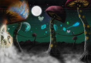 Fairy Mushrooms