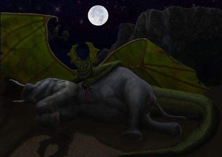 Dragon's prey - Bethany Gray Cumbria
