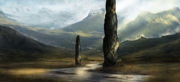 The Wilderness. - Alan Thompson Art