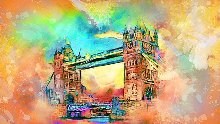 Tower Bridge London - Alan Thompson Art