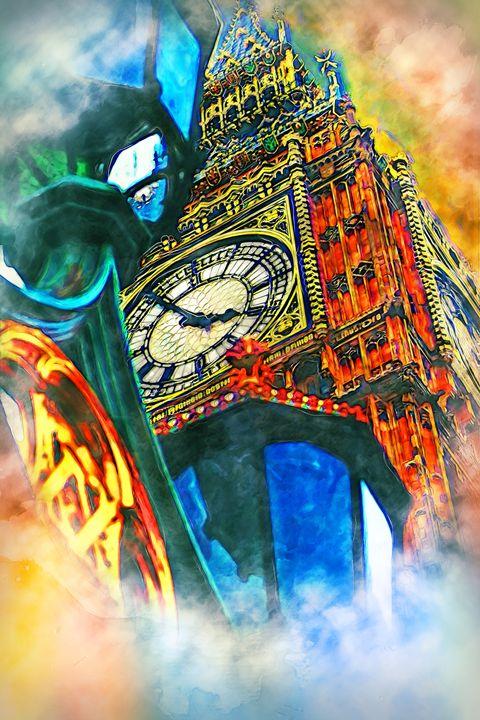 Big Ben London - Alan Thompson Art