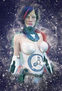 Sci-fi Poster Girl