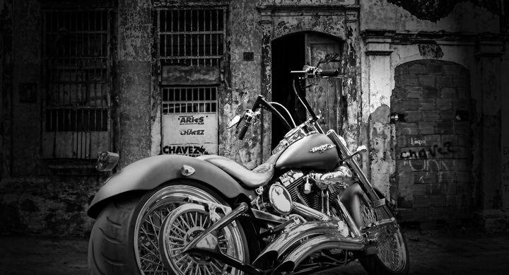 Harley Davidson - Alan Thompson Art