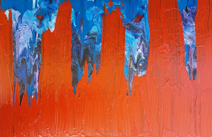 BELONG TO THE WORLD - Flèche - artiste visuelle, peinture synesthésique