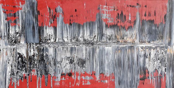 MONUMENT - Flèche - artiste visuelle, peinture synesthésique