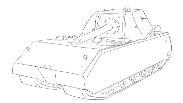 Panzer VIII Maus - KuraiTanuki