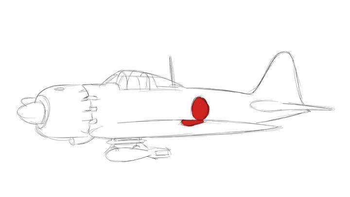 零戦 Mitsubishi A6M5 Zero - KuraiTanuki