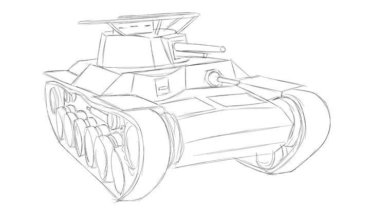 九七式中戦車 chi-ha57 - KuraiTanuki